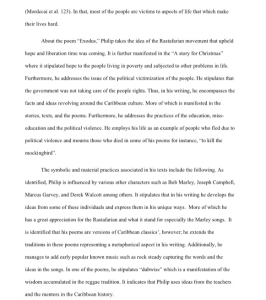 Geoffrey Philp Essay 4 pages | Documents and Forms | Research Papers