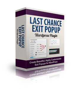 Last Chance Exit Popup | Software | Add-Ons and Plug-ins