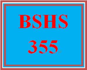 BSHS 355 Week 1 Field Experience Agency Profile Analysis | eBooks | Education