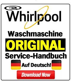 Whirlpool AWS 6126 Waschmaschine Serviceanleitung | eBooks | Technical