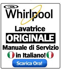 whirlpool fwg81296ws it lavatrice manuale di servizio
