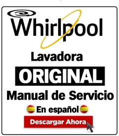 Whirlpool TDLR 65210 lavadora manual de servicio | eBooks | Technical