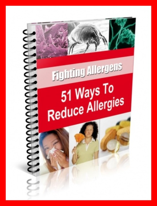 First Additional product image for - How to Reduce Allergies in 51 Ways