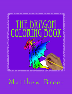 the dragon coloring book