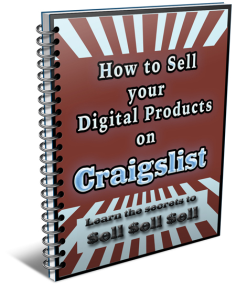 learn the secrets of how to sell your digital products on craigslist