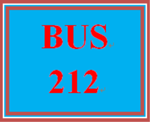 bus 212 week 2 charter: individual assignment