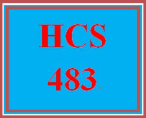 HCS 483 Week 2 Technology Trends Proposal Part I | eBooks | Education