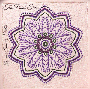 Ten-Point Star PES | Crafting | Embroidery