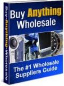 how to buy anything wholesale