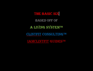 the basic six - iamclintfit guide