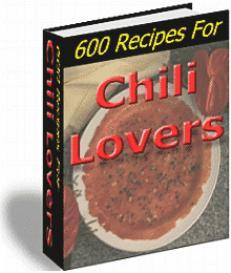 600 Recipes For Chili Lovers | eBooks | Food and Cooking