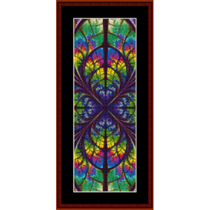 Fractal 621 Bookmark cross stitch pattern by Cross Stitch Collectibles | Crafting | Cross-Stitch | Other