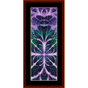 Fractal 624 Bookmark cross stitch pattern by Cross Stitch Collectibles | Crafting | Cross-Stitch | Other