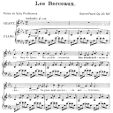 Les berceaux Op.23 No.1, High Voice in G minor, G. Fauré. For Soprano or Tenor. Ed. Leduc (A4) | eBooks | Sheet Music