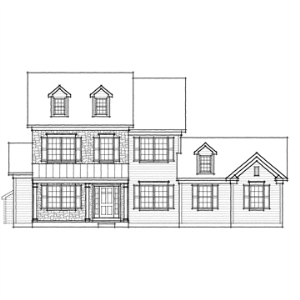 Hawthorn Farmhouse - Garage Right | Documents and Forms | Building and Construction