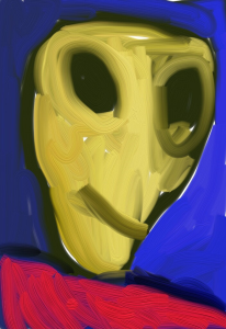 Alien profile | Photos and Images | Digital Art