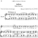 Poème d'un jour (Adieu) Op.21 No.3, High Voice in F Major, G. Fauré. For Soprano or Tenor. Ed. Leduc (A4) | eBooks | Sheet Music