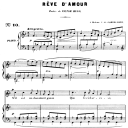 Rêve d'amour Op. 5 No.2, High Voice in F Major, G. Fauré. For Soprano or Tenor. Ed. Leduc (A4) | eBooks | Sheet Music