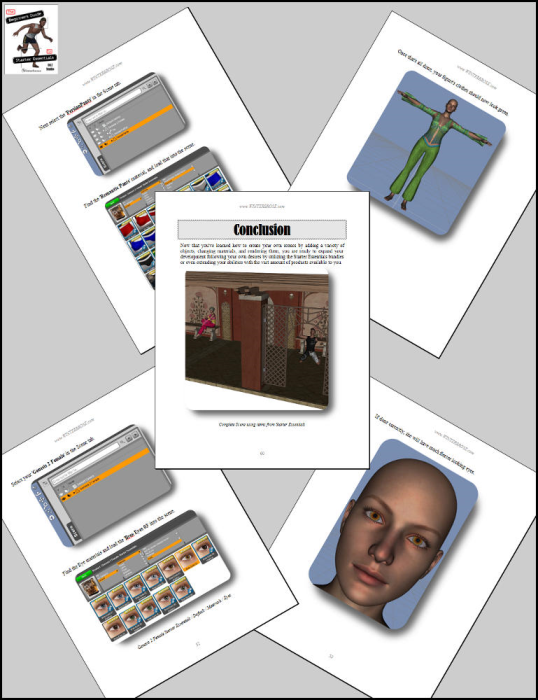 Third Additional product image for - The Beginner's Guide to Starter Essentials for Daz Studio 4.6