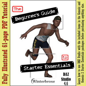 the beginner's guide to starter essentials for daz studio 4.6
