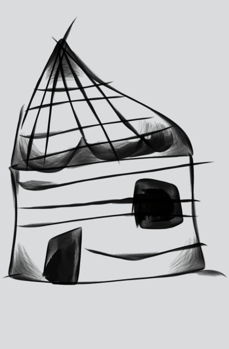 First Additional product image for - Hut sketch