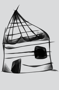 Hut sketch | Photos and Images | Digital Art