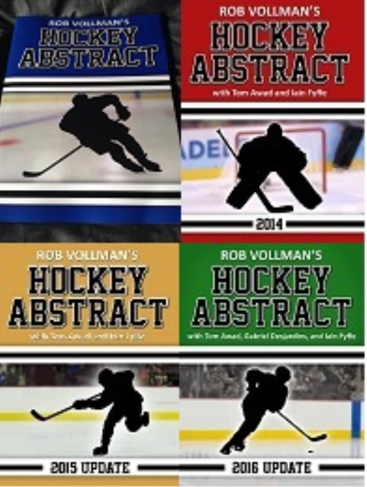 Second Additional product image for - The Ultimate Rob Vollman Hockey Abstract Package