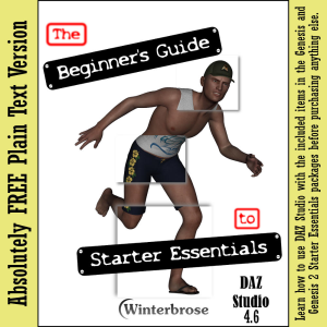 FREE, The Beginner's Guide to Starter Essentials for Daz Studio 4.6 | eBooks | Computers