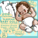 Sleepy Cloth BABY Doll VINTAGE e-pattern PDF | Crafting | Sewing | Other