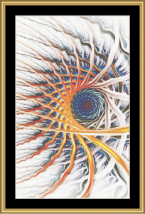 Fractal Unlimited Ii - 61 | Crafting | Cross-Stitch | Wall Hangings