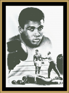 Muhammad Ali - The Greatest | Crafting | Cross-Stitch | Other