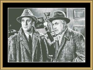 Sherlock And Watson Ii | Crafting | Cross-Stitch | Wall Hangings
