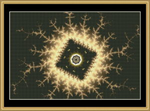 Fabulous Fractal Collection 305 | Crafting | Cross-Stitch | Wall Hangings