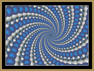 Fabulous Fractal Collection 186 | Crafting | Cross-Stitch | Wall Hangings