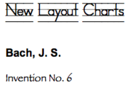 First Additional product image for - Bach, J.S.: Invention No. 6 in E major