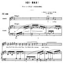 Ici-bas Op.8 No.3, Medium Voice F-Sharp minor, G. Fauré. For Mezzo or Baritone. Ed. Leduc (A4) | eBooks | Sheet Music