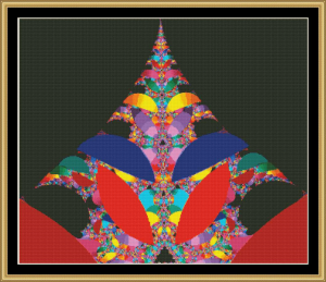 Fabulous Fractal Collection 309 | Crafting | Cross-Stitch | Other
