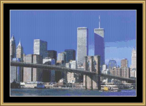 Brooklyns View | Crafting | Cross-Stitch | Wall Hangings