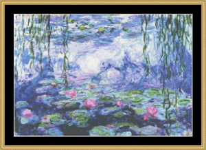 water lilies v - monet