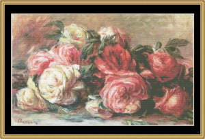 discarded roses - renoir