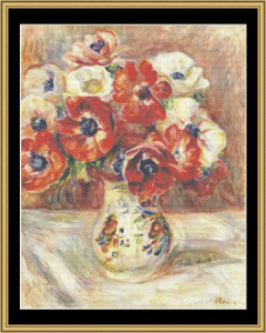 Still Life With Arimones - Renoir | Crafting | Cross-Stitch | Other