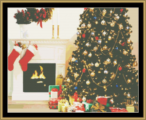 Christmas Morning | Crafting | Cross-Stitch | Other