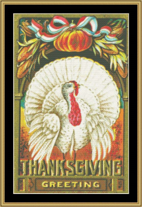 Happy Thanksgiving | Crafting | Cross-Stitch | Wall Hangings