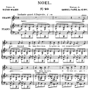 Noël Op.43 No.1, Medium Voice in F Major, G. Fauré. For Mezzo or Baritone. Ed. Leduc (A4) | eBooks | Sheet Music