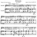 Prison Op.83 No.1, Medium Voice in E-Flat minor, G. Fauré. For Mezzo or Baritone. Ed. Leduc (A4) | eBooks | Sheet Music
