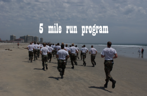 5 Mile run Program | Documents and Forms | Business