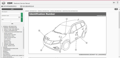 First Additional product image for - Infiniti Q70 Hybrid HY51 2018 Service manual Wiring Diagrams