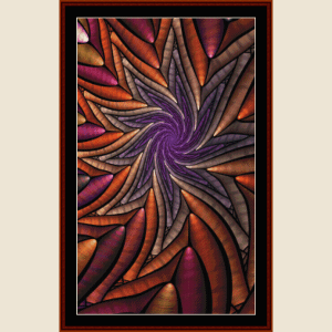 fractal 634 cross stitch pattern by cross stitch collectibles