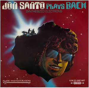 Jon Santo Plays Bach - Synthesized Electrons | Music | Classical