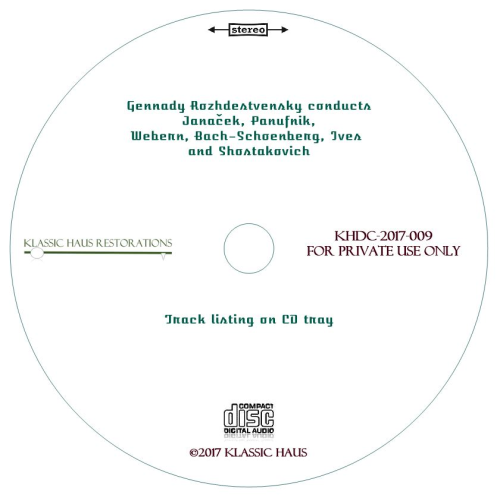 Second Additional product image for - Gennady Rozhdestvensky conducts